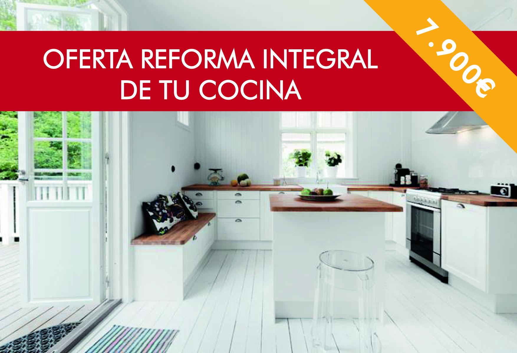 Precio reforma integral cocina reforma integral with for Precio reforma integral
